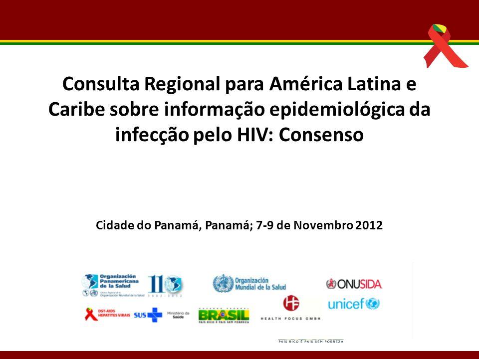 Cidade do Panamá, Panamá; 7-9 de Novembro 2012