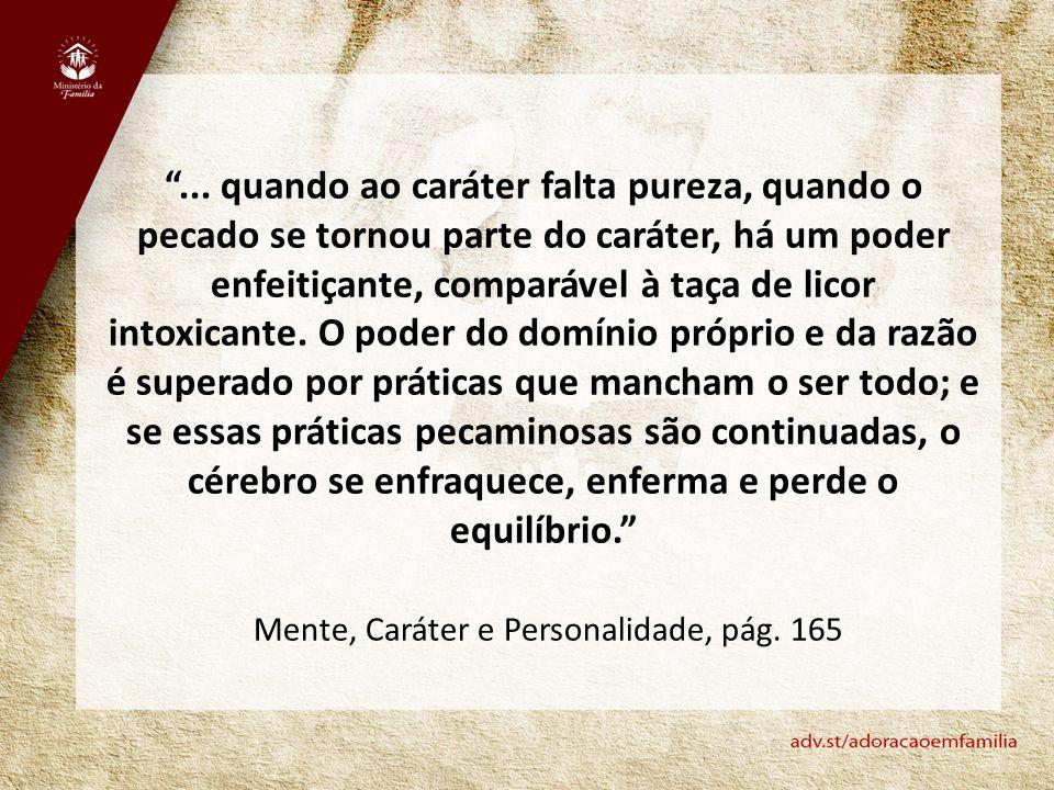 Mente, Caráter e Personalidade, pág. 165