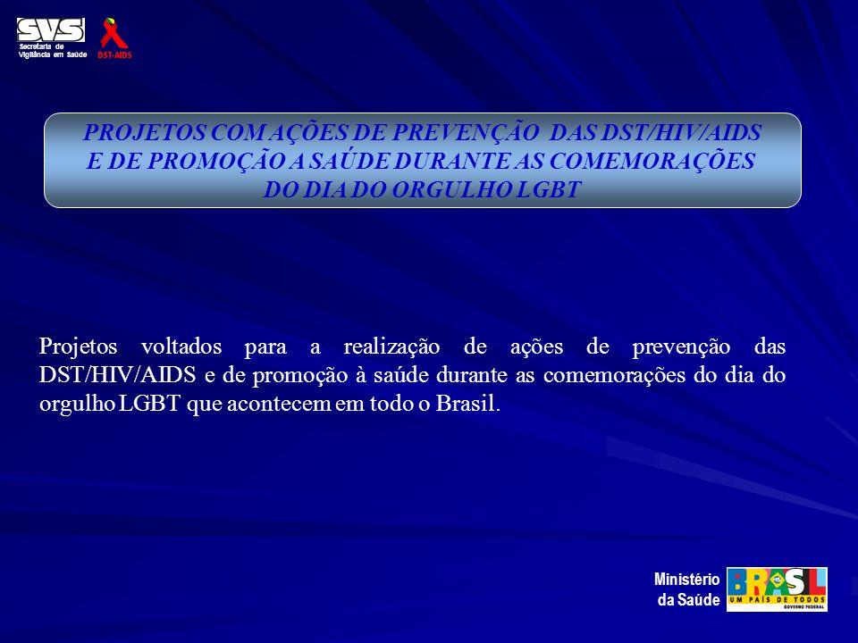 E DE PROMOÇÃO A SAÚDE DURANTE AS COMEMORAÇÕES DO DIA DO ORGULHO LGBT