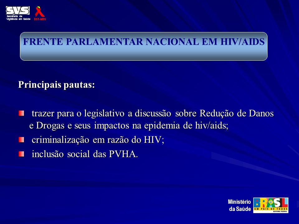 FRENTE PARLAMENTAR NACIONAL EM HIV/AIDS