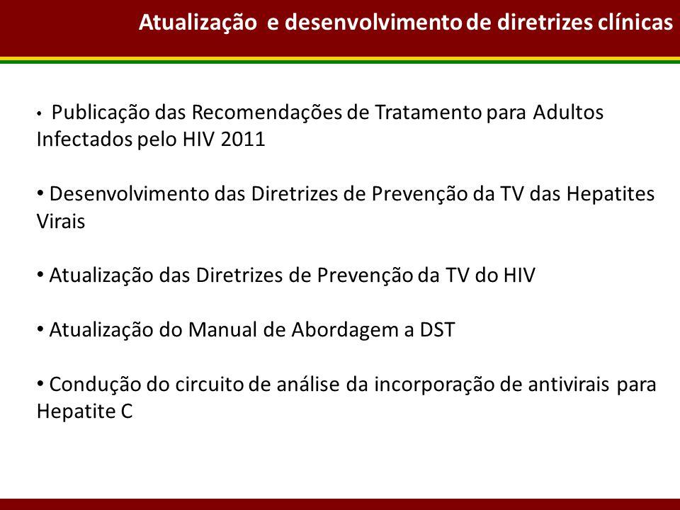 Atualização e desenvolvimento de diretrizes clínicas