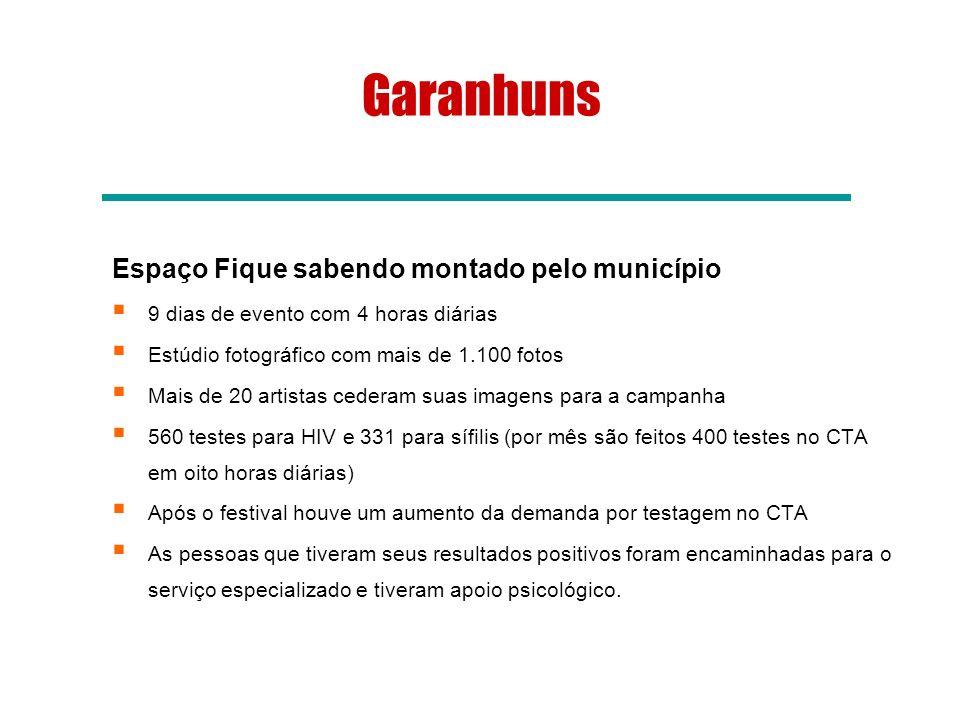 Garanhuns Espaço Fique sabendo montado pelo município