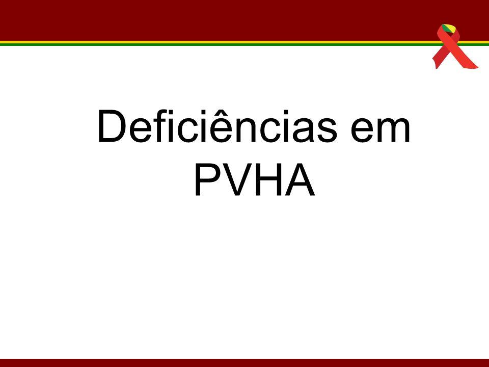 Deficiências em PVHA