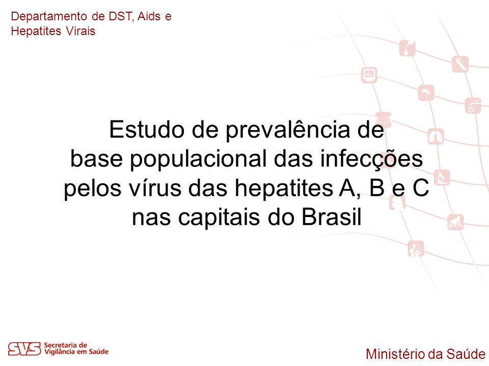 Estudo de prevalência de base populacional das infecções