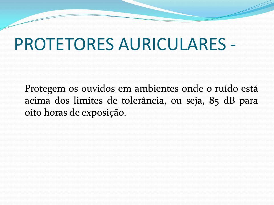 PROTETORES AURICULARES -