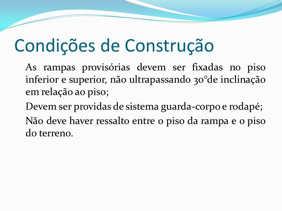 Condições de Construção