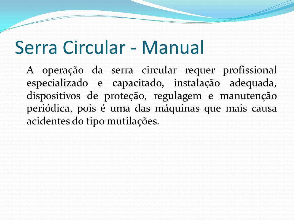Serra Circular - Manual