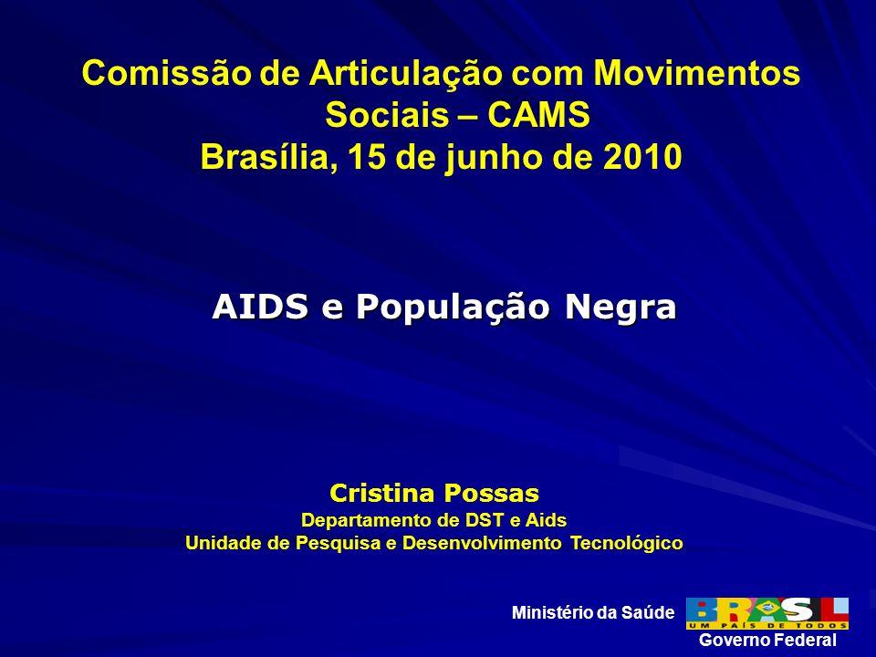 Comissão de Articulação com Movimentos Sociais – CAMS