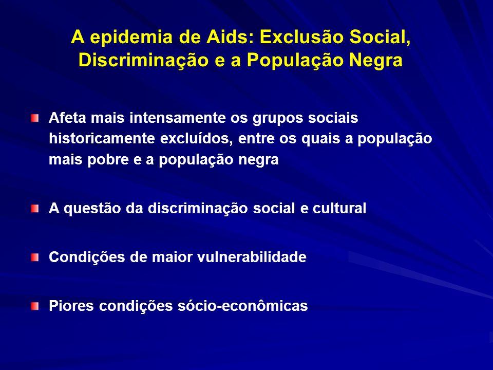 A epidemia de Aids: Exclusão Social, Discriminação e a População Negra