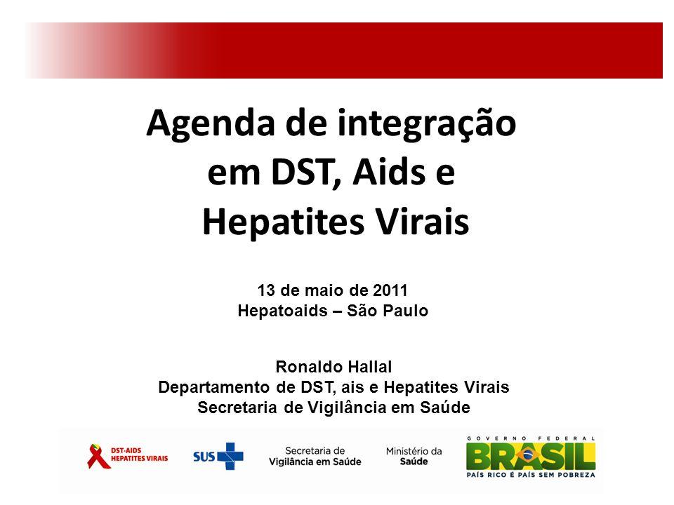Agenda de integração em DST, Aids e Hepatites Virais