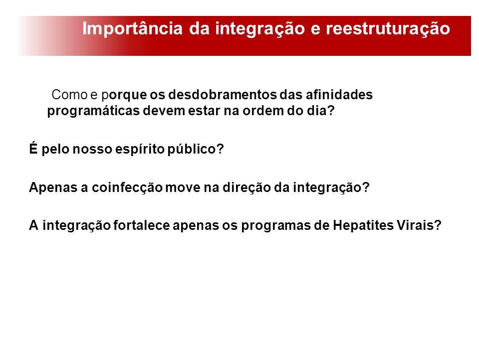 Importância da integração e reestruturação
