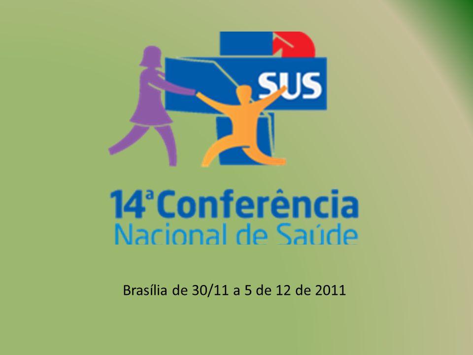 Brasília de 30/11 a 5 de 12 de 2011