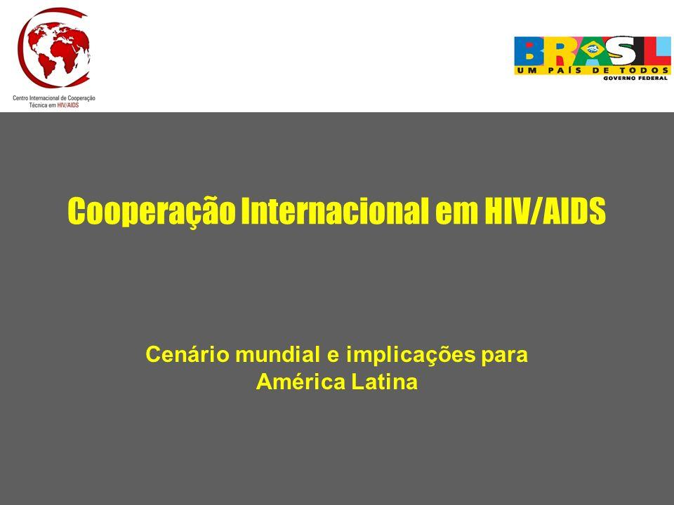 Cooperação Internacional em HIV/AIDS