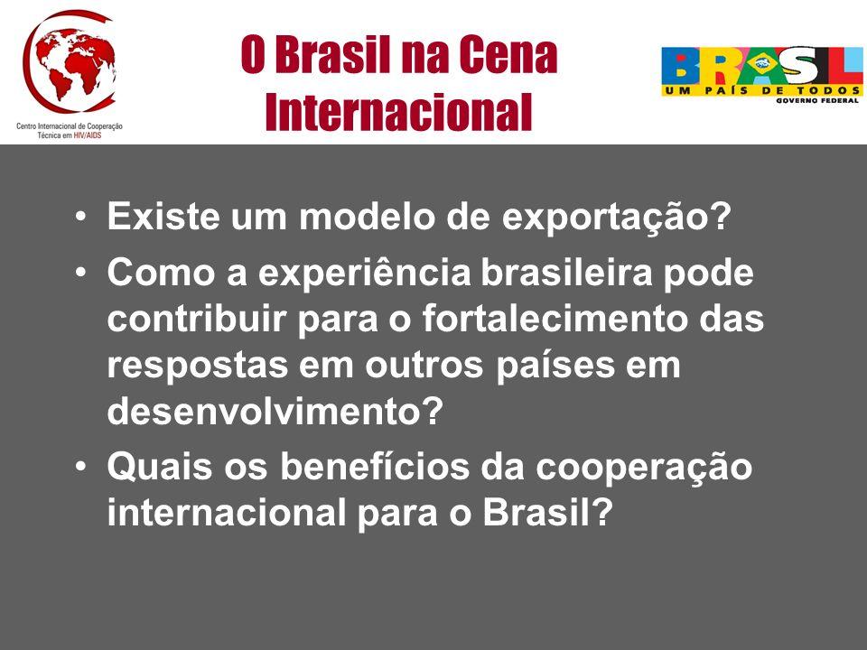 O Brasil na Cena Internacional