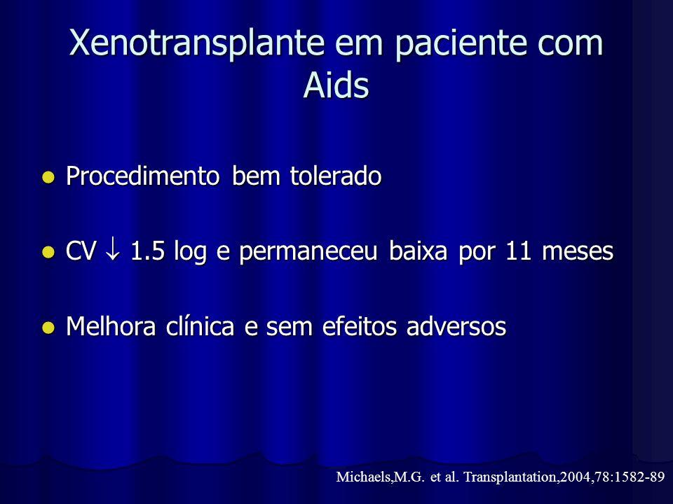 Xenotransplante em paciente com Aids