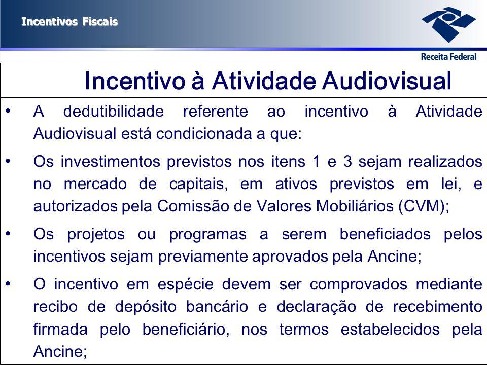 Incentivo à Atividade Audiovisual