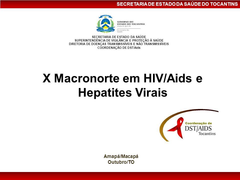 X Macronorte em HIV/Aids e Hepatites Virais