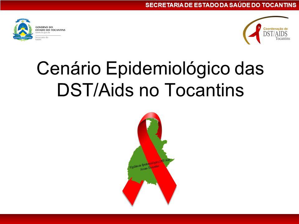 Cenário Epidemiológico das DST/Aids no Tocantins