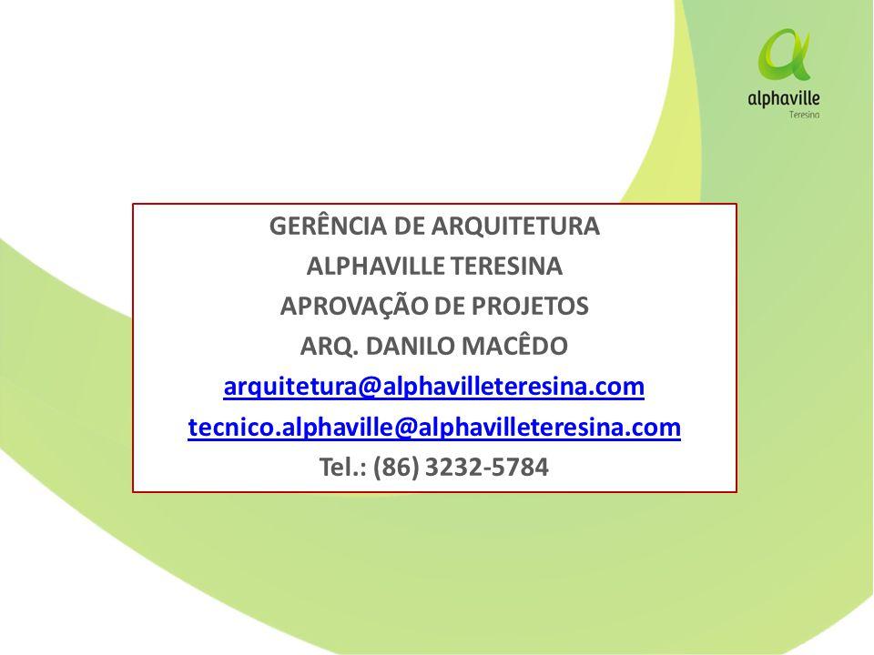 GERÊNCIA DE ARQUITETURA