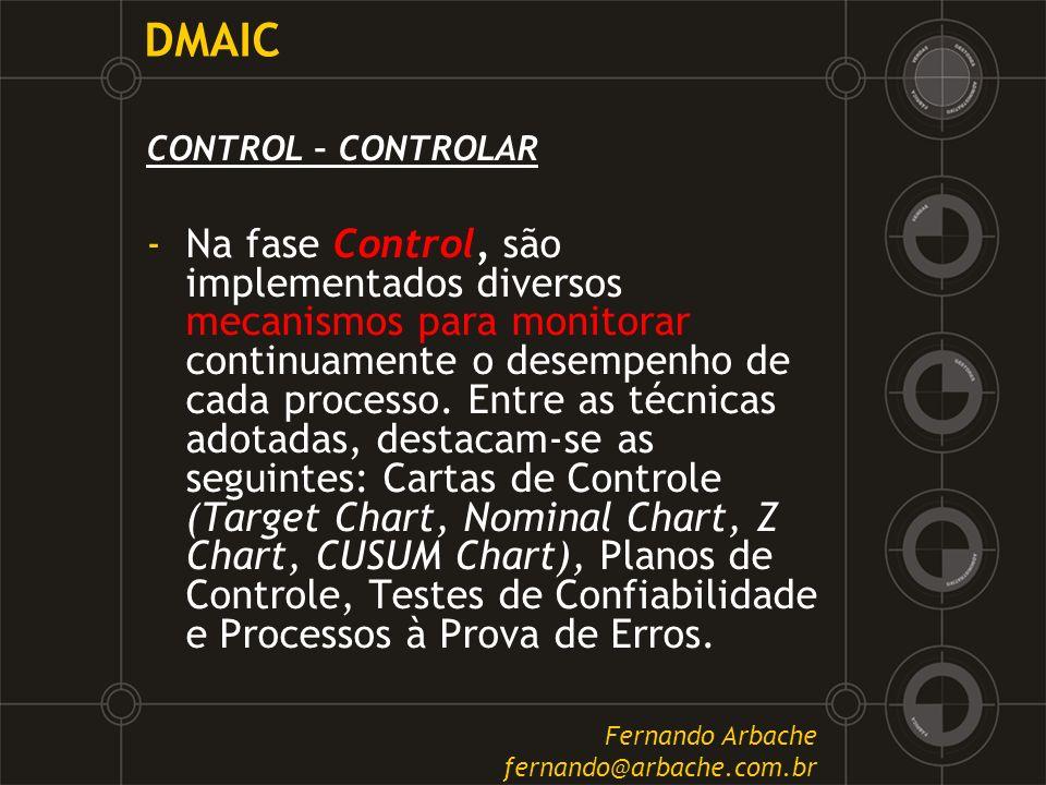 DMAIC CONTROL – CONTROLAR.