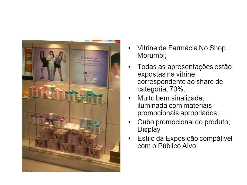 Vitrine de Farmácia No Shop. Morumbi;