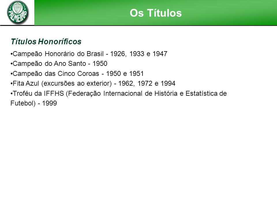 Os Títulos Títulos Honoríficos