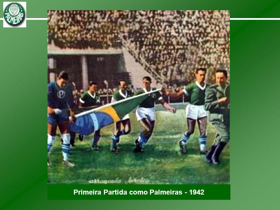 Primeira Partida como Palmeiras - 1942