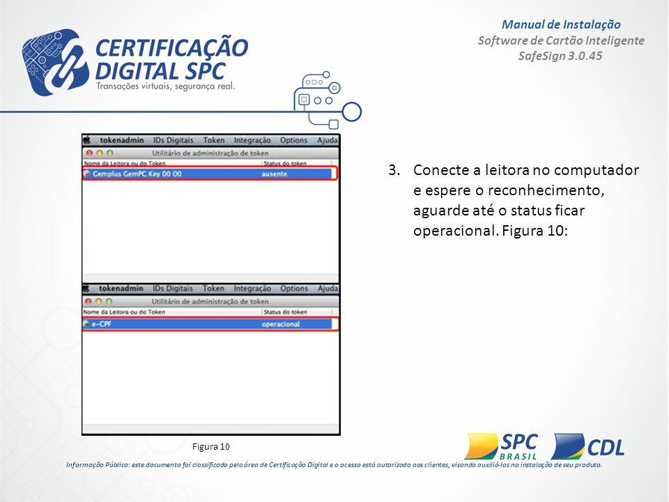 Manual de Instalação Software de Cartão Inteligente