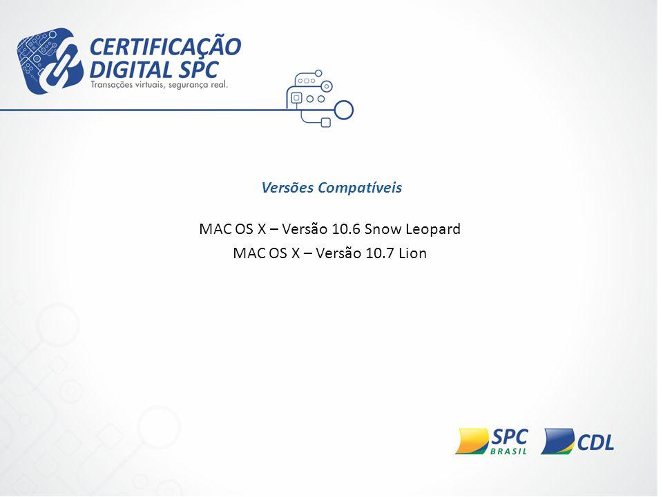 MAC OS X – Versão 10.6 Snow Leopard