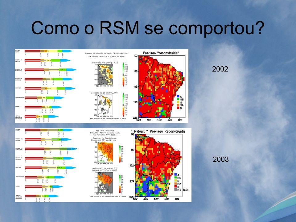 Como o RSM se comportou 2002 2003