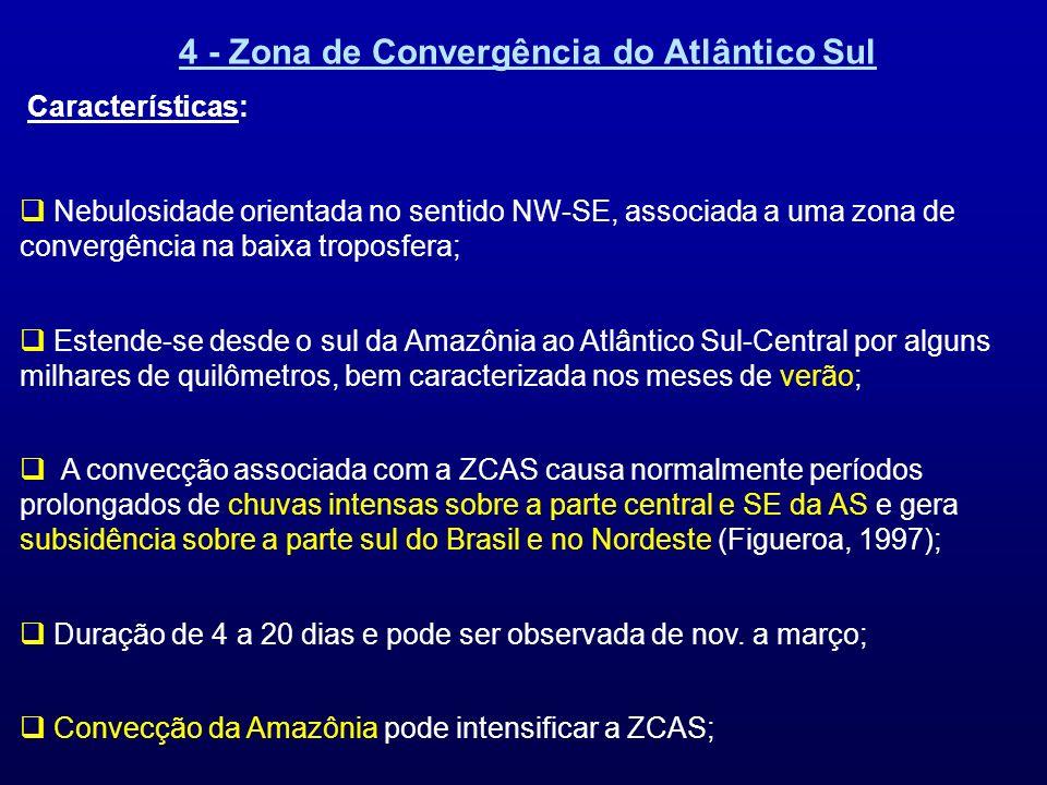 4 - Zona de Convergência do Atlântico Sul