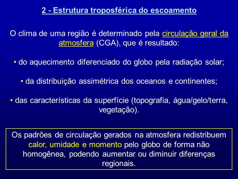 2 - Estrutura troposférica do escoamento