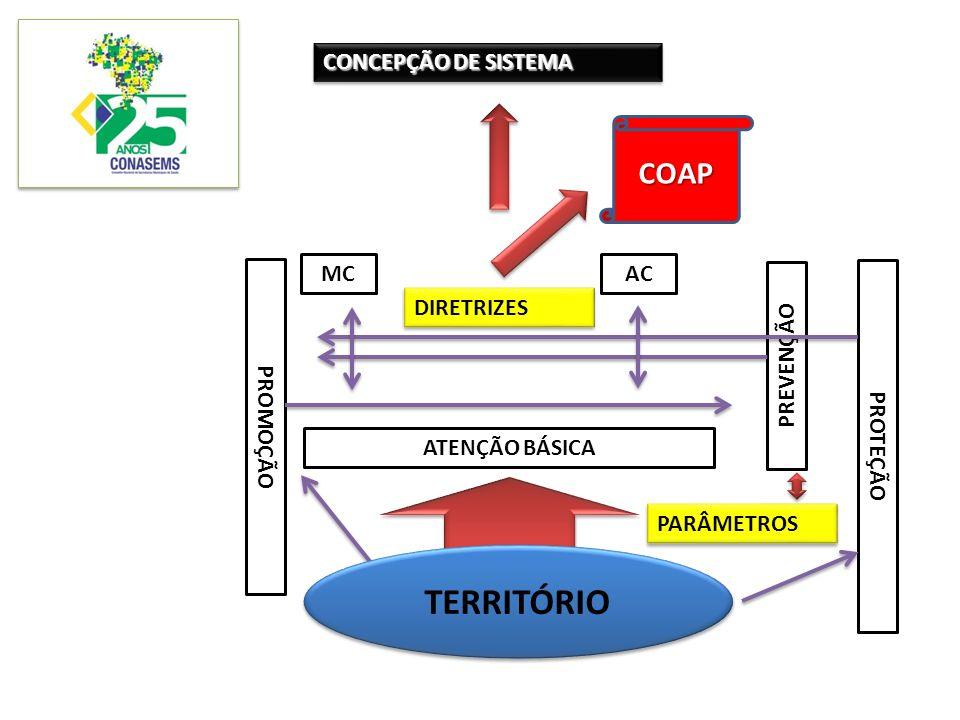 TERRITÓRIO COAP CONCEPÇÃO DE SISTEMA MC AC DIRETRIZES PREVENÇÃO
