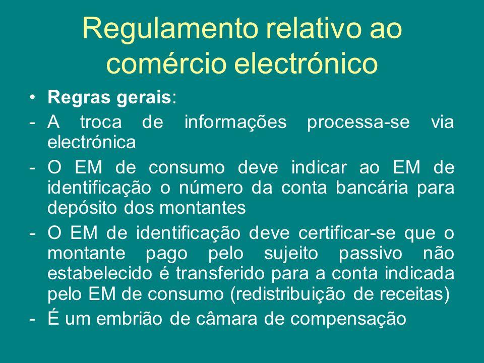 Regulamento relativo ao comércio electrónico