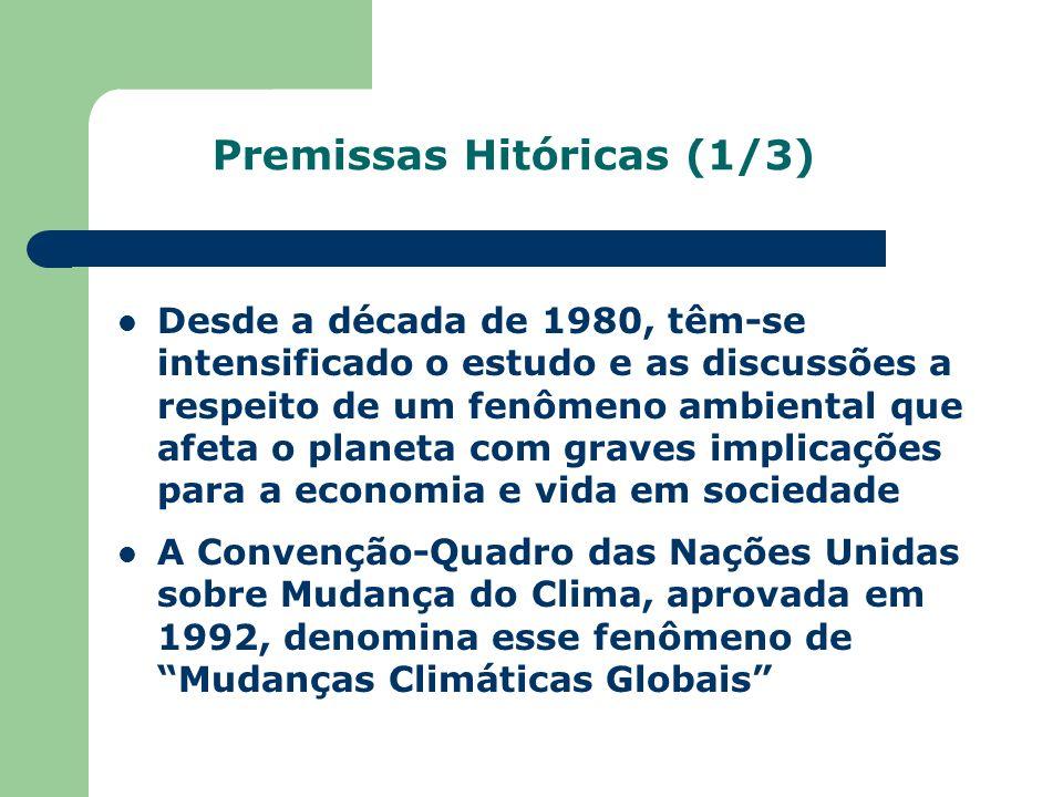 Premissas Hitóricas (1/3)