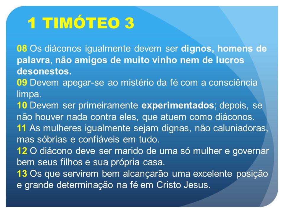 1 TIMÓTEO 3