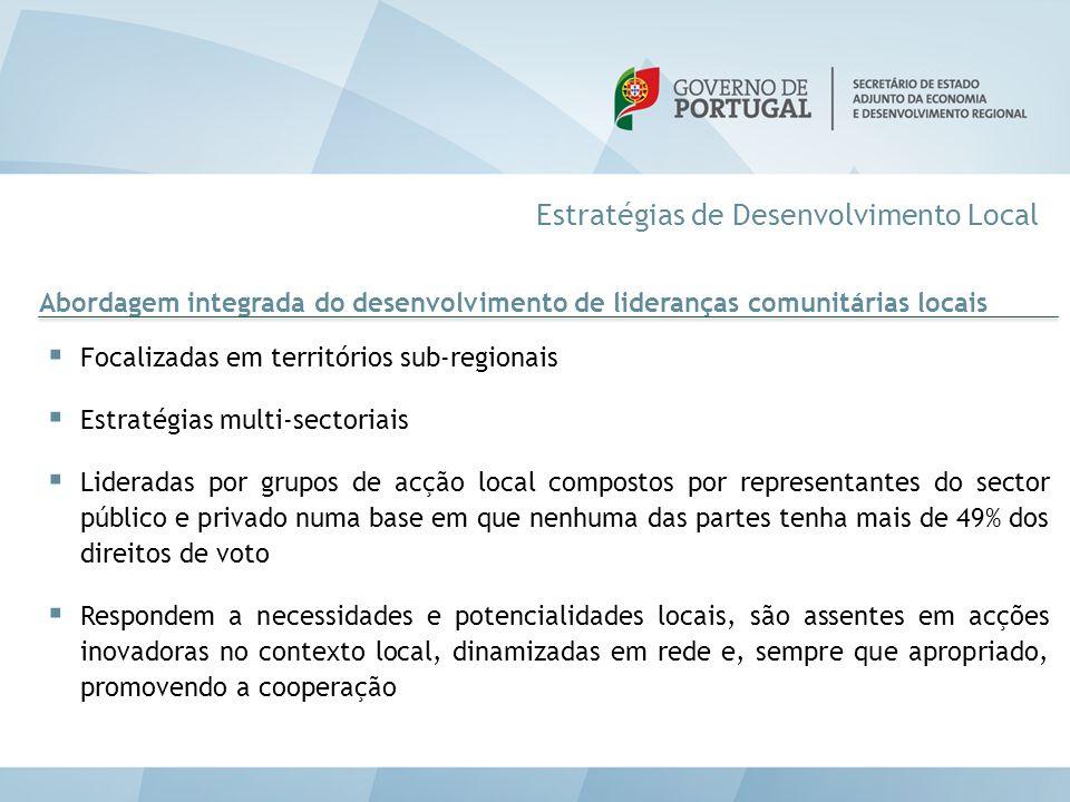 Estratégias de Desenvolvimento Local