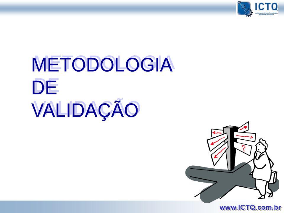 METODOLOGIA DE VALIDAÇÃO