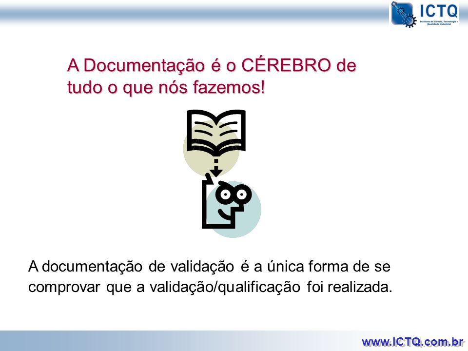 A Documentação é o CÉREBRO de tudo o que nós fazemos!