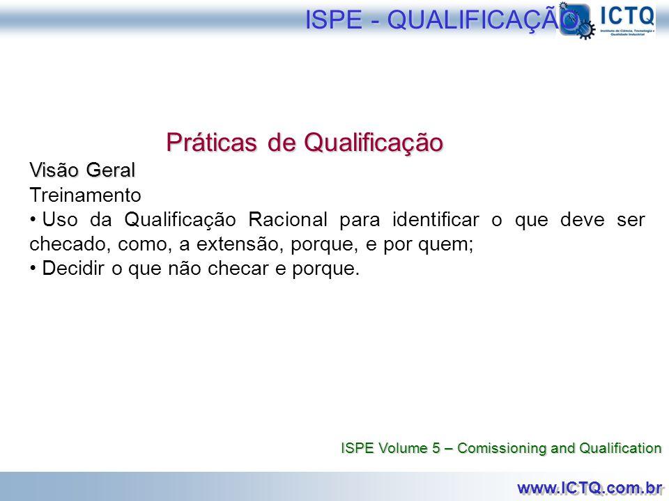 Práticas de Qualificação