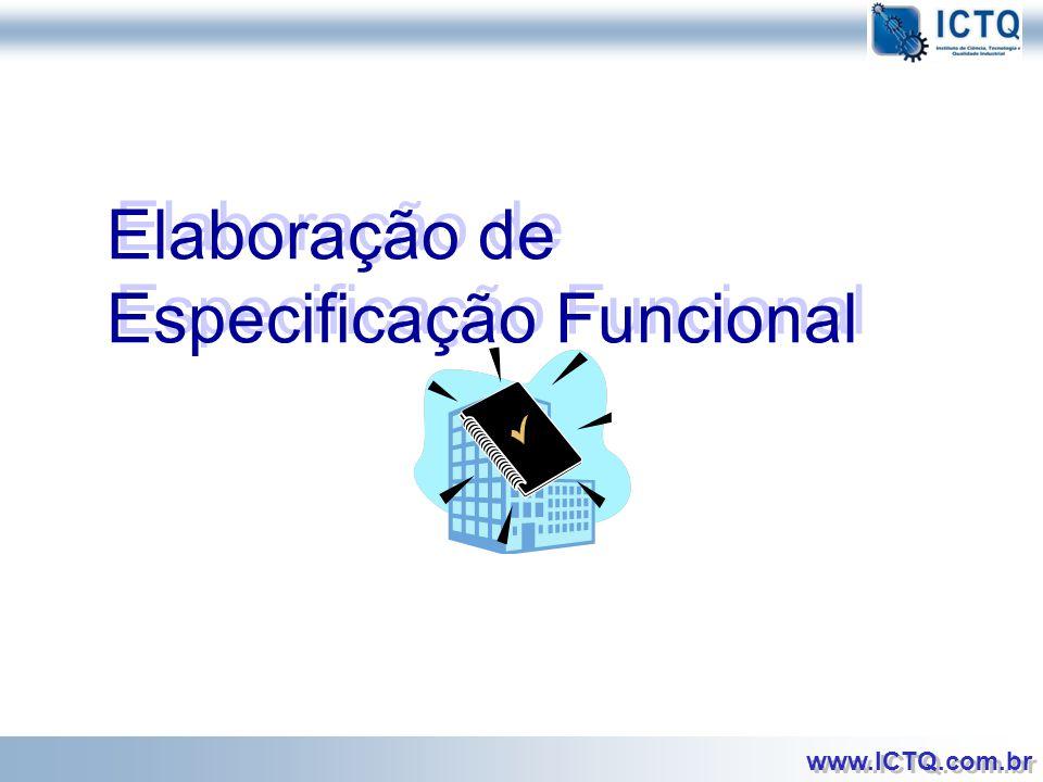 Elaboração de Especificação Funcional