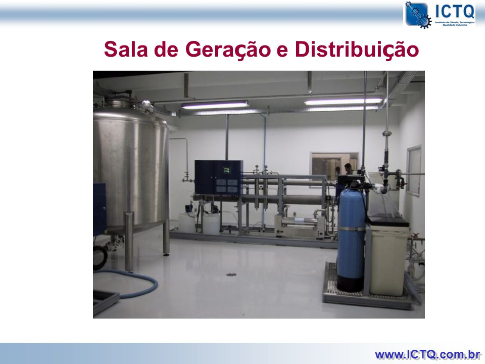 Sala de Geração e Distribuição