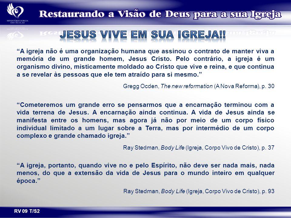 Jesus vive em sua igreja!!