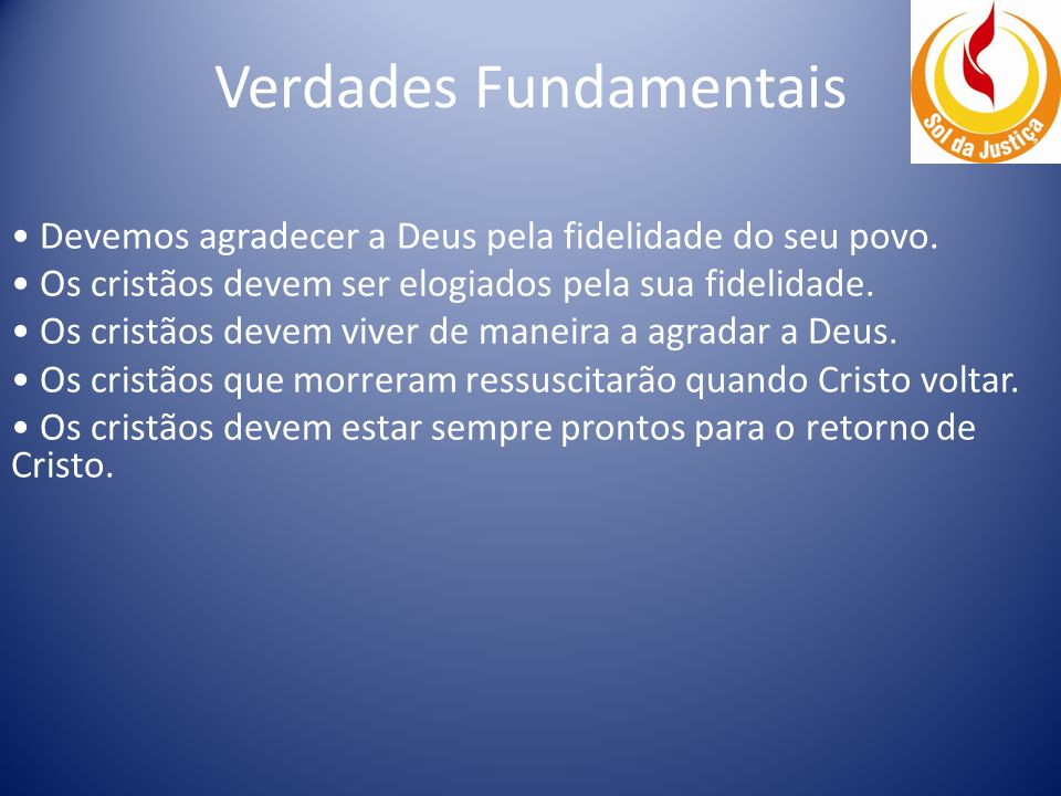 Verdades Fundamentais