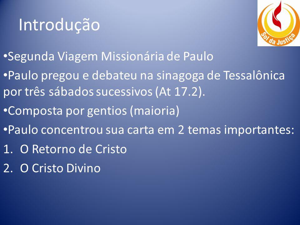 Introdução Segunda Viagem Missionária de Paulo