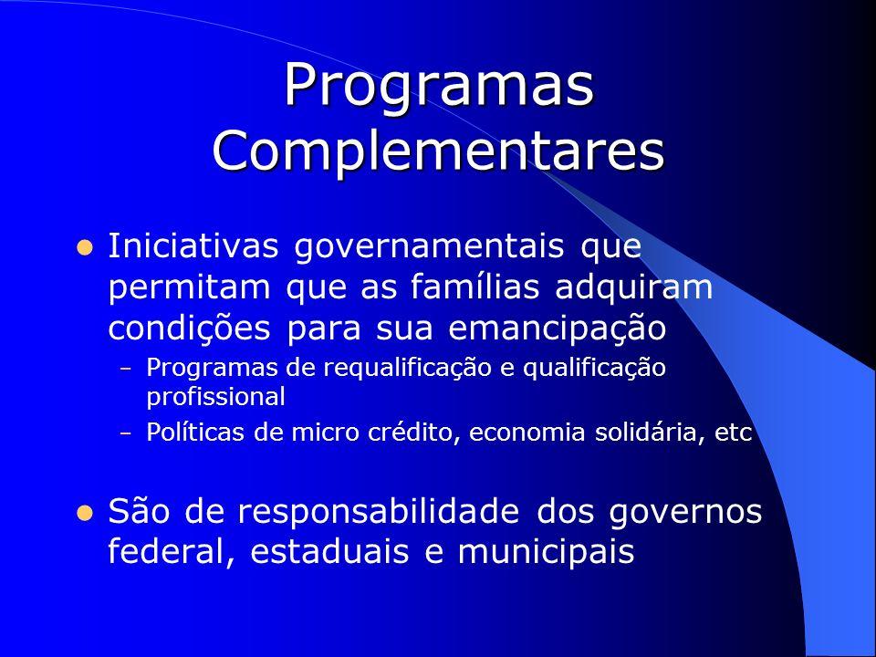 Programas Complementares