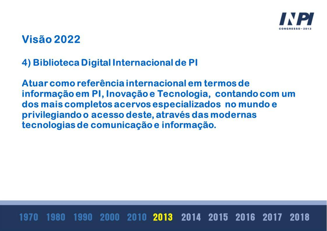 Visão 2022 4) Biblioteca Digital Internacional de PI