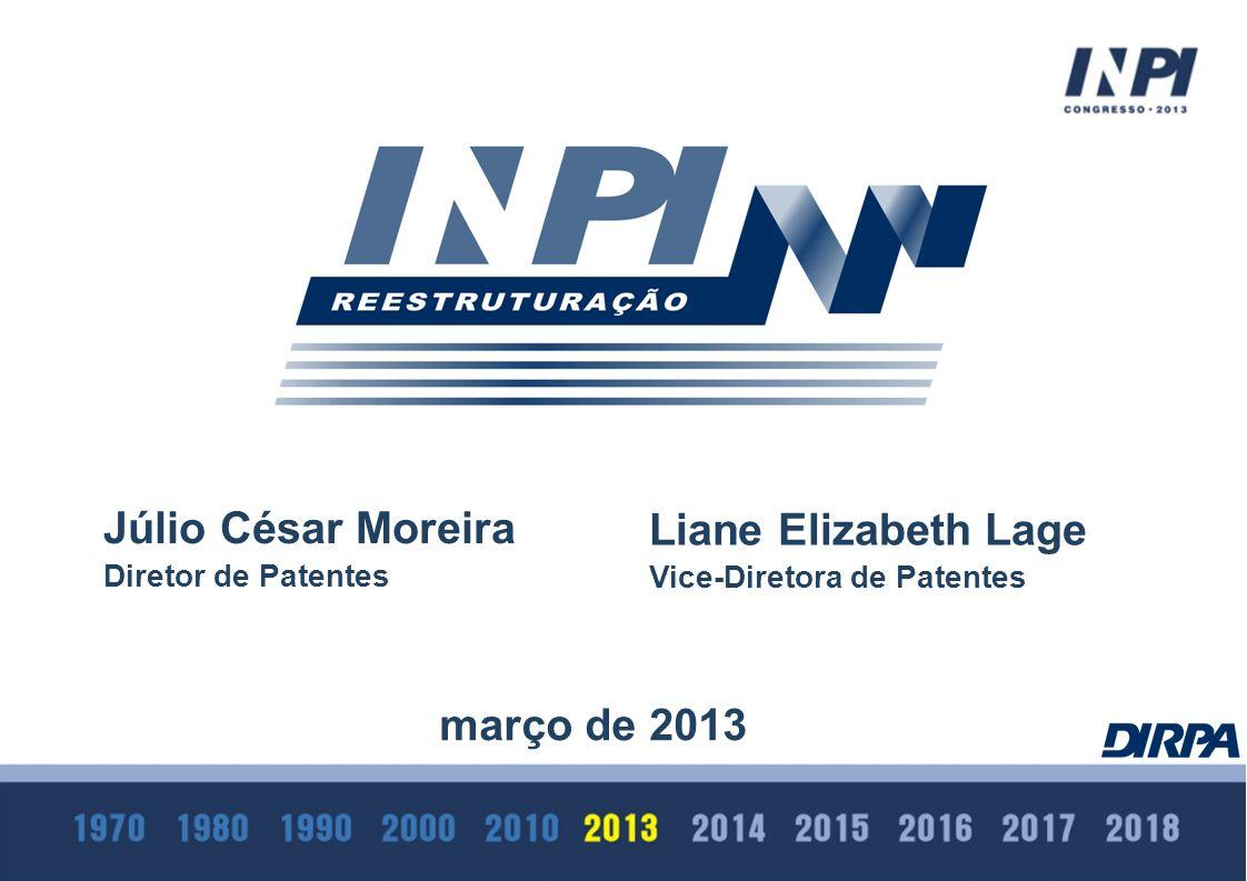 Júlio César Moreira Liane Elizabeth Lage março de 2013