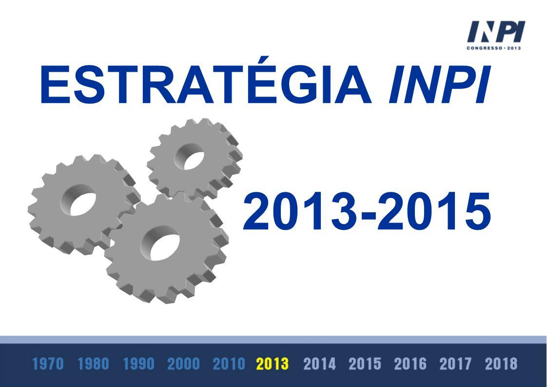 ESTRATÉGIA INPI 2013-2015