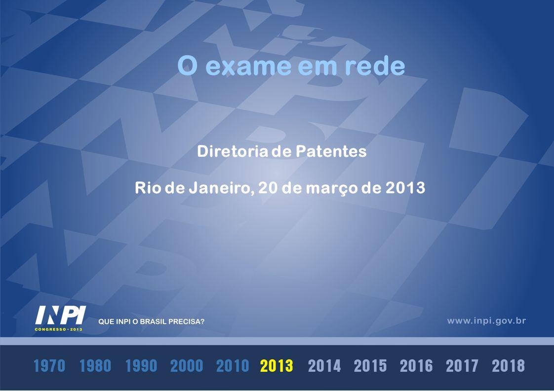 Rio de Janeiro, 20 de março de 2013